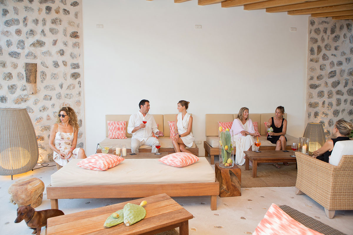 Lounge Exterior Restaurante