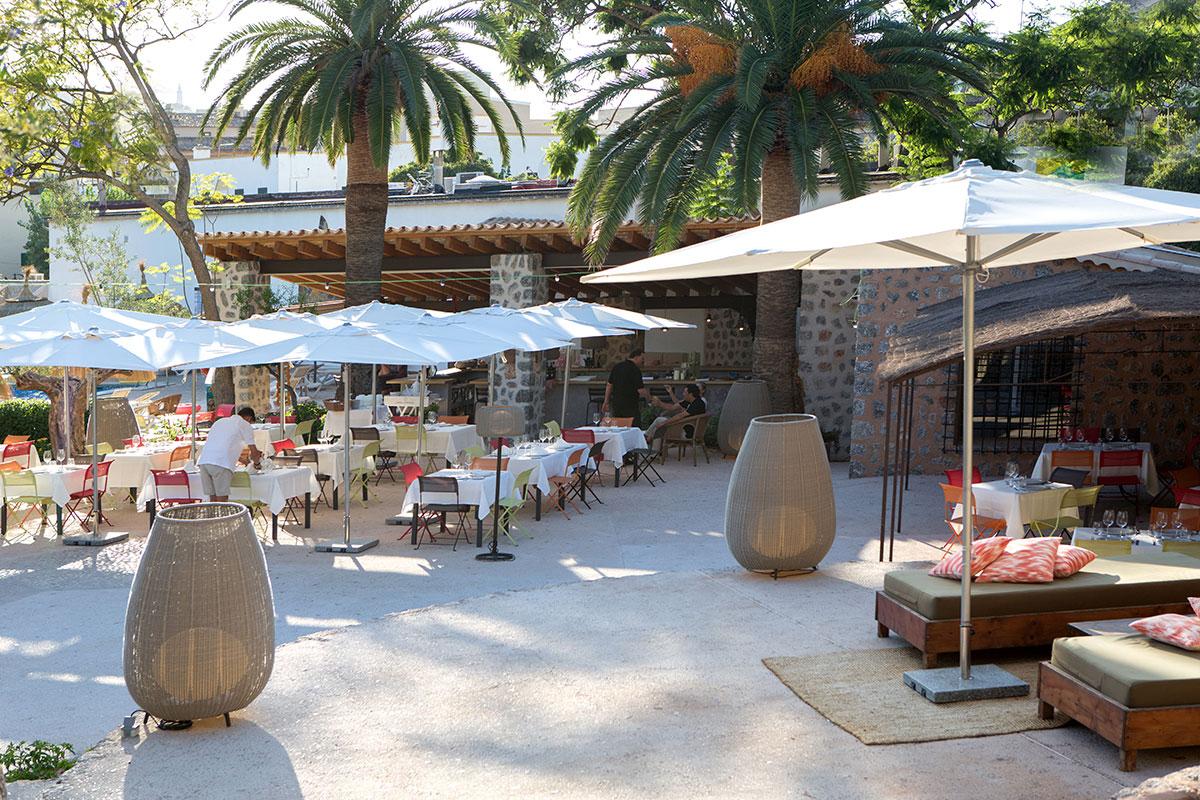 Terraza Exterior | Sa Figuera Restaurant Soller