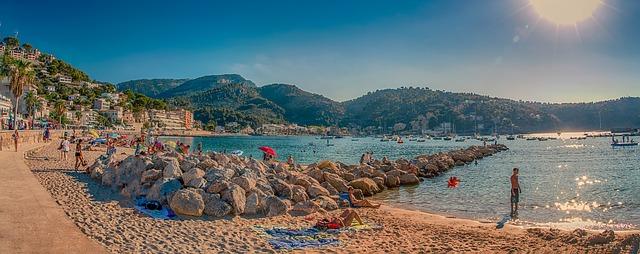 playa puerto de soller